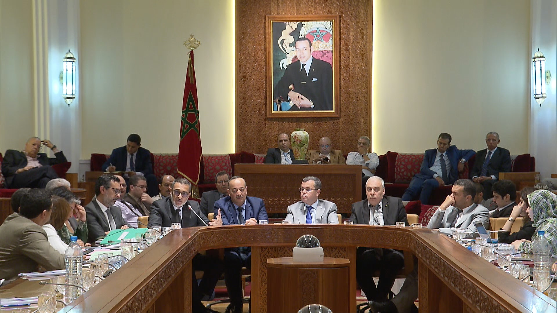 العرايشي يستعرض أمام البرلمان وضعية وتحديات التلفزيون العمومي المغربي