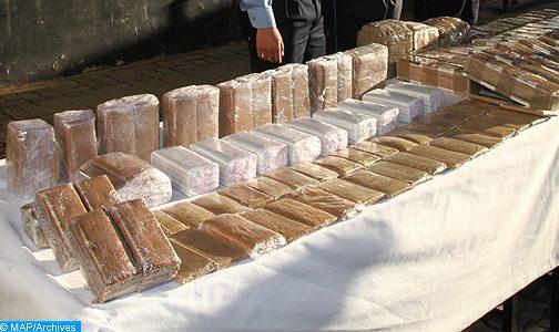 حجز طنين من مخدر الشيرا كانت موجهة للتهريب الدولي انطلاقا من طنجة