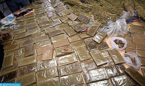 """""""الديستي"""" تسهل عملية إحباط تهريب أطنان من المخدرات بالناظور"""