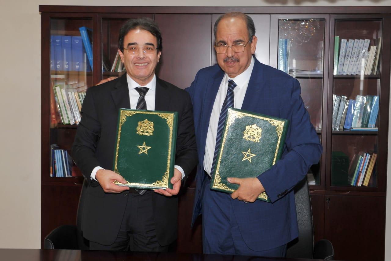 وزارة بنعتيق توقع اتفاقية شراكة لتنظيم الدورة الأولى لجامعة الشباب الإفريقي بالمغرب