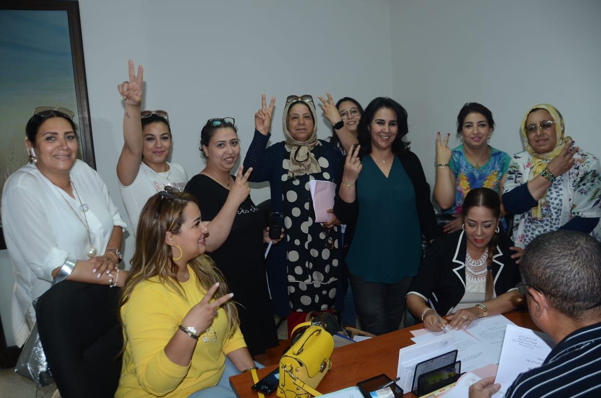 نزهة بوشارب قريبة من رئاسة جمعية النساء الحركيات