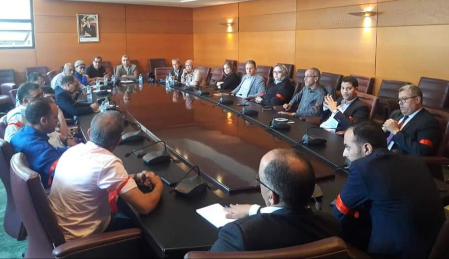 النقابة المستقلة لموظفي مجلس المستشارين تعقد اجتماعا حول معاركها الاحتجاجية