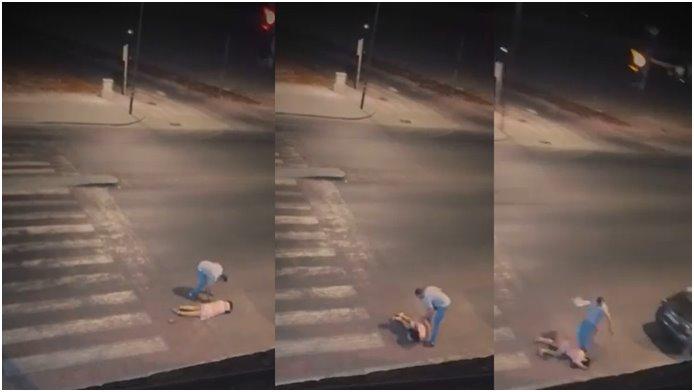 """توقيف زوجين على خلفية شريط فيديو """"العنف بالشارع العام"""""""