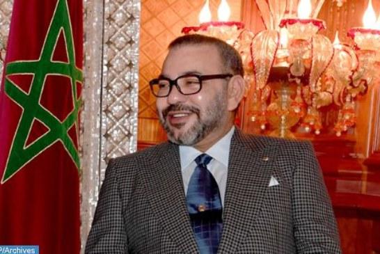 الملك يهنئ الشعب الجزائري بمناسبة فوز المنتخب الوطني الجزائري لكرة القدم بكأس إفريقيا للأمم 2019