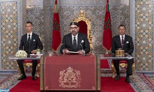 """الملك: """"أتألم شخصيا ما دامت فئة من المغاربة ولو أصبحت واحدا في المائة تعيش في ظروف صعبة"""""""