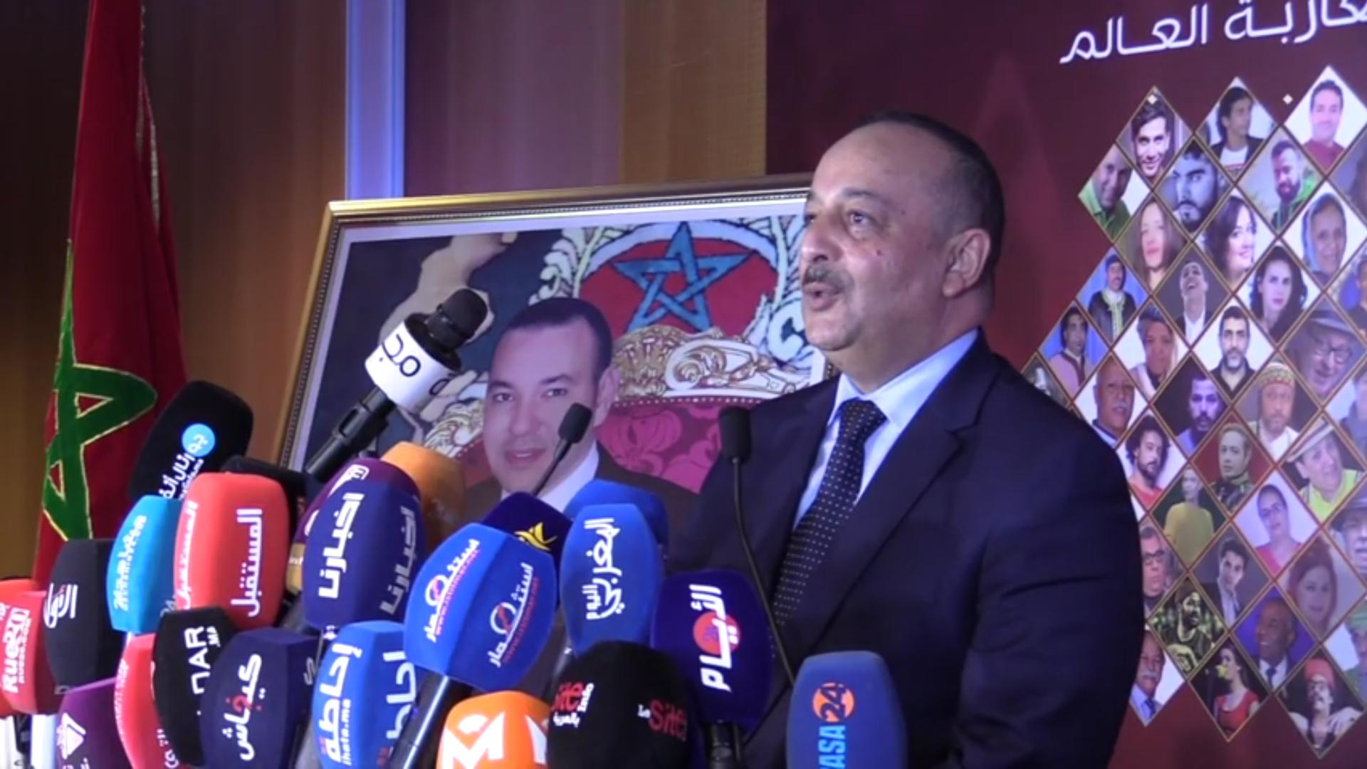 بالفيديو… الوزير الأعرج ينوه بمبادرة الوزير بنعتيق في تقريب المسرح المغربي من مغاربة العالم