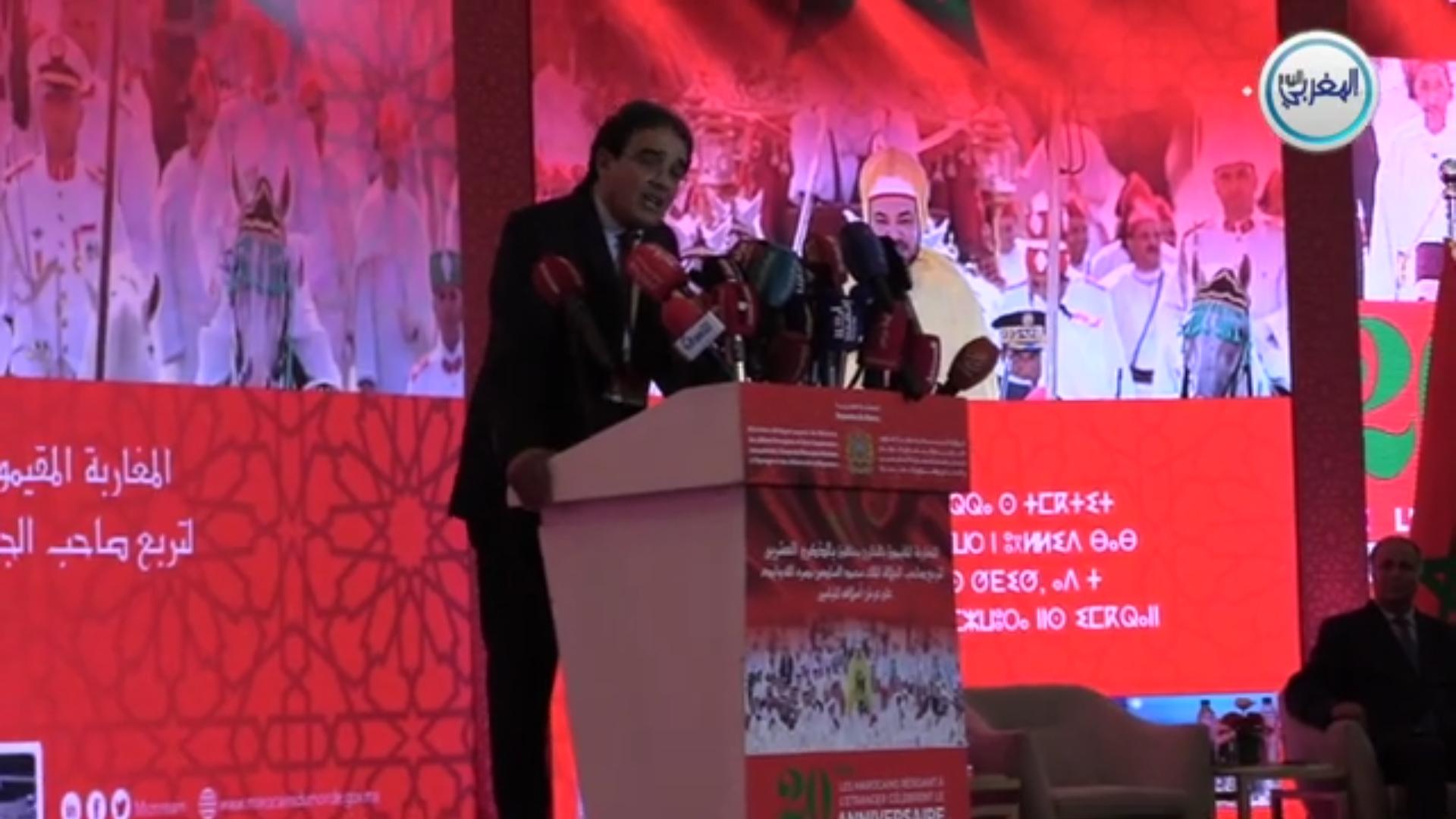 الوزير بنعتيق يستضيف 120 شخصية من مغاربة العالم يمثلون 65 دولة بالمعمور لإحياء الذكرى 20 من عيد العرش بطريقة استثنائية بالرباط + فيديو