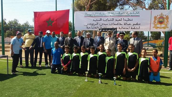 أنشطة مهمة تزامنا مع الاحتفال بعيد الشباب المجيد بعمالة مقاطعات سيدي البرنوصي