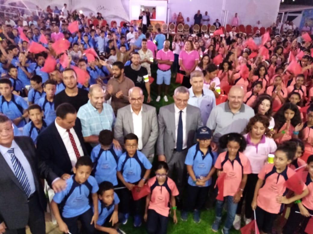 أوجار حاضر في احتفالات الأطفال باختتام المخيم الوطني للمؤسسة المحمدية لأطر وموظفي وزارة العدل