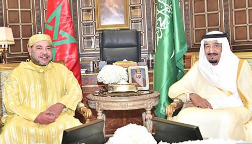 تبادل لتهاني العيد بين الملك محمد السادس والملك سلمان وولي العهد السعودي