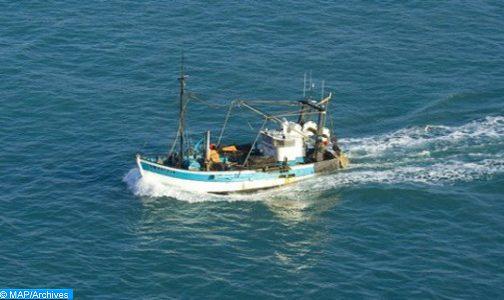 إنقاذ 5 بحارة على إثر اصطدام سفينة أجنبية لنقل البضائع بمركب للصيد عرض سواحل الداخلة