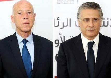 مناظرة تلفزيونية بين مرشحي الرئاسة في تونس بين قيس سعيد ونبيل القروي