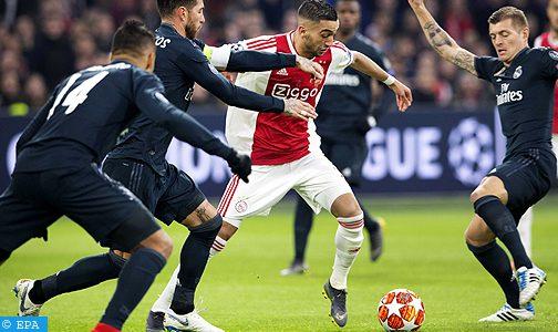 نادي ريال مدريد يطارد الدولي المغربي حكيم زياش