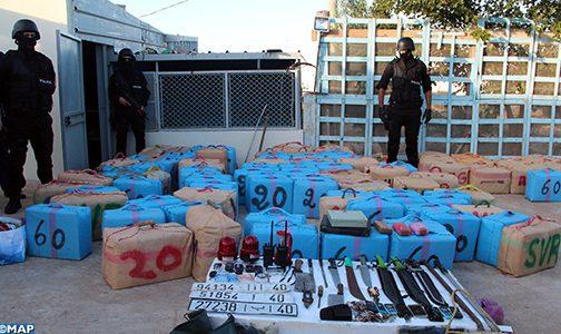 طنجة… حجز حوالي 8 أطنان من مخدر الشيرا