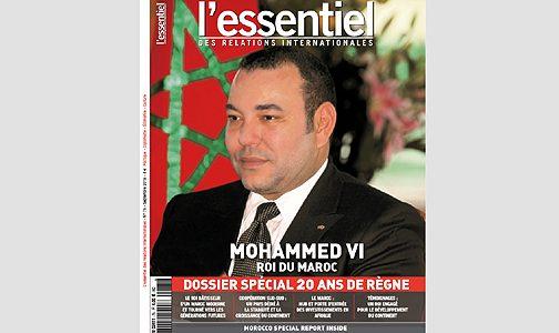 """مجلة """"لي سونسيال"""": """"قادة العالم يشيدون بريادة وعمل ودينامية الملك محمد السادس"""""""