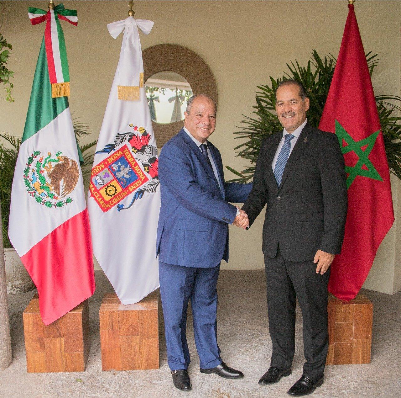 """تعزيز التعاون الاقتصادي محور زيارة مرتقبة لحاكم ولاية """"أغواسكالينتس"""" المكسيكية إلى المغرب"""