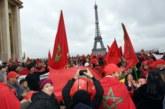 بالفيديو… مغاربة يتظاهرون بالعاصمة الفرنسية نصرة للوطن وضدا في إهانة العلم الوطني