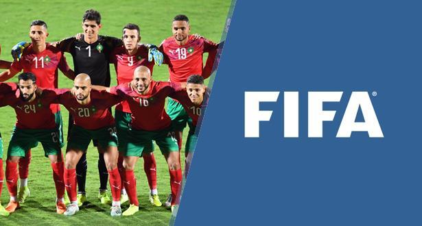"""المنتخب المغربي يتراجع في التصنيف الجديد ل""""الفيفا"""""""