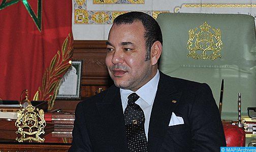 الملك يهنئ عبد المجيد تبون بمناسبة انتخابه رئيسا للجزائر