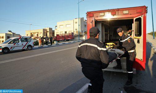 حصيلة جديدة لحادثة انقلاب حافلة لنقل الركاب بإقليم تازة  17 قتيلا و35 جريحا