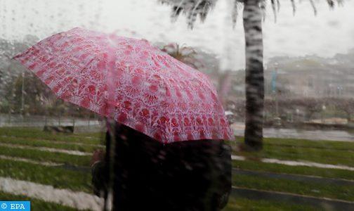 أمطار قوية محليا رعدية يومي الأربعاء والخميس بعدد من مناطق المملكة