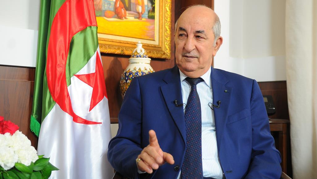 عبد المجيد تبون رئيسا للجزائر بنسبة 58,15 في المائة