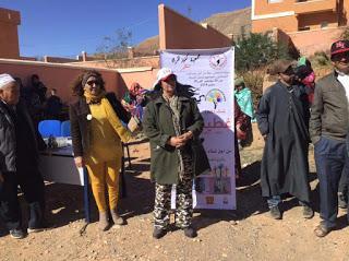 جمعية كنوز المرأة تنشر الدفئ في المناطق النائية