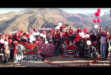"""""""ألترا الوينرز""""… تغادر مدرجات الملاعب لتدخل الفرحة على نفوس المغاربة + فيديو"""
