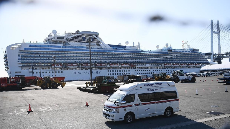 تأكيد 39 إصابة جديدة بكورونا على متن السفينة السياحية اليابانية