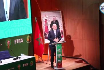 بالفيديو… رئيس الفيفا جياني إنفانتينو يتحدث بدون لغة خشب حول وضع كرة القدم الإفريقية