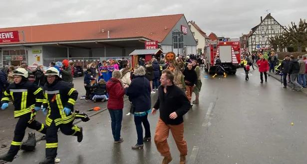 سيارة تدهس مشاركين في كرنفال في ألمانيا