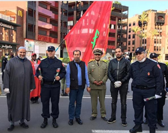 ورود تلقى من الشرفات تحية لرجال الأمن بالمغرب… جهاز وطني يكبر في الأزمة بتضحيات سيسجلها التاريخ