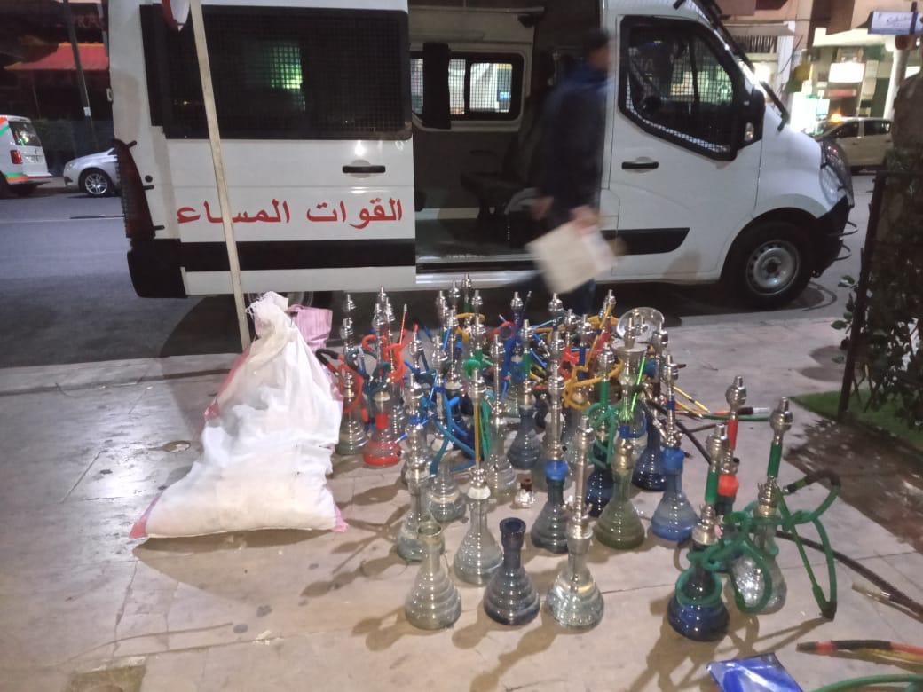 اعتقال مسير مقهى للشيشا بمراكش لم يحترم قرار الإغلاق لتفادي تفشي فيروس كورونا