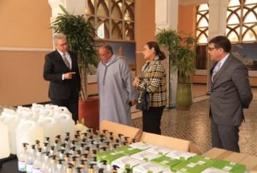 جهة مراكش آسفي تزود المستشفيات بمواد التعقيم والمسلتزمات الطبية لمواجهة فيروس كورونا