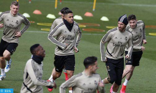 نادي ريال مدريد يخضع لاعبيه للحجر الصحي