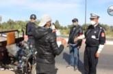 """رجال الأمن الشجعان يواجهون جائحة كورونا… """"المغربي اليوم"""" تنقل لكم بالصوت والصورة تجند رجال الحموشي في السدود الأمنية"""