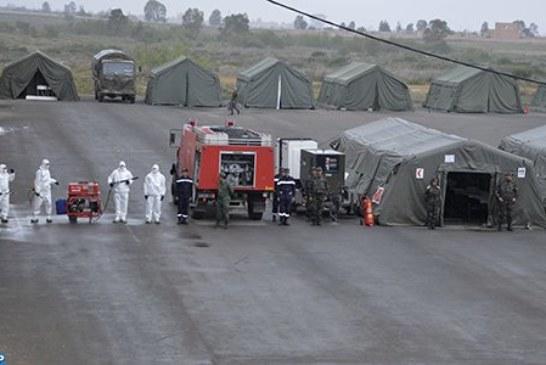 المستشفى العسكري الميداني ببنسليمان جاهز للعمل في أية لحظة لاستقبال مصابي فيروس كورونا