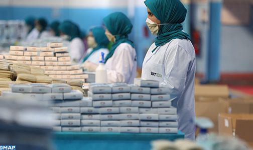 وزارات الصحة والصناعة والشغل تحث أرباب ومسيري المقاولات والوحدات الصناعية والإنتاجية على تعزيز التدابير الوقائية