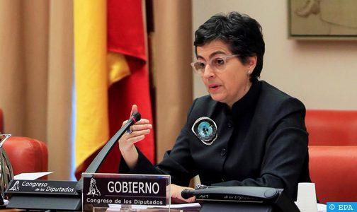 وزيرة الخارجية الإسبانية: إسبانيا لن تفتح حدودها مع الاتحاد الأوربي حتى نهاية شهر يونيو