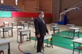 بالفيديو… شاهد كيف يتم تجهيز القاعات بجهة مراكش آسفي لاستقبال المرشحين لاجتياز امتحانات الباكلوريا