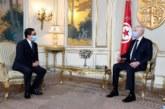بوريطة ينقل رسالة شفوية من الملك محمد السادس إلى الرئيس التونسي