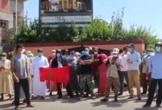 احتجاجات الباعة