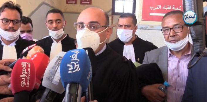 نقيب المحامين بالدار البيضاء يحتج بقوة على تعرض مكتب محامي بالبيضاء للإفراغ بطريقة أثارت الجدل + فيديو