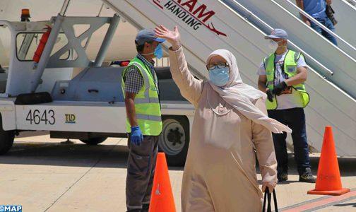 المغاربة العالقون بالخارج : وصول 318 مواطنا مغربيا عائد من إسبانيا