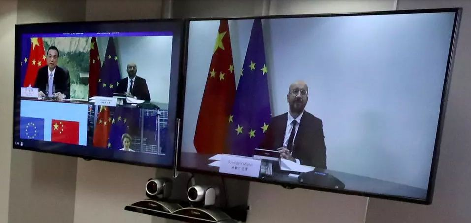 قمة بين الاتحاد الأوروبي والصين عبر الفيديو لتبديد الخلافات العالقة