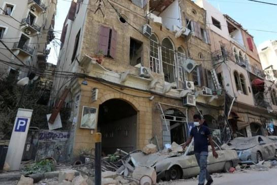 انفجار لبنان: نحو 300 ألف شخص باتوا مشردين ببيروت