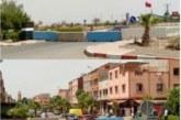 مدرعات الجيش تحل بمراكش من جديد بعد تفشي كورونا بالمدينة