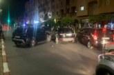 حادثة سير تخنق شارع علال الفاسي بمراكش + صور
