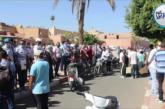 بالفيديو… احتجاجات عمال الفنادق المحسوبين على الشركات الخاصة من تهميشهم من صندوق الدعم