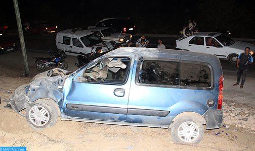 22 قتيلا و1869 جريحا حصيلة حوادث السير بالمناطق الحضرية خلال أسبوع